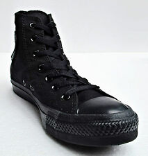 Converse Chuck Taylor All Star Hi Tops Black Mono All Sizes Women Sneakers Shoes