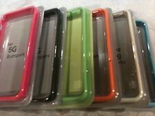 Bumper With Metal Buttons Case Cover for Apple iPhone 5 5G 5th (6 Colors)