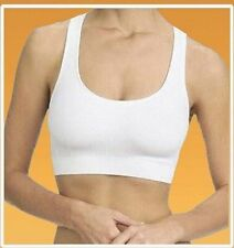 NEW SEAMLESS SHAPEWEAR STRETCH COMFORT LEISURE BRA WHITE BLACK NUDE ALL SIZES