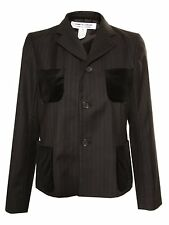 Comme des Garcons | Velvet Pocket Jacket | Black | WAS £740 Now £225