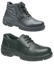 Mens Safety Trainers Ladies Shoes Boots Work Steel Toe Cap Ankle Size 3-15 UK