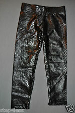 New Dori Creations child ankle leggings shiny  Snake skin look -5 sizes  #1808