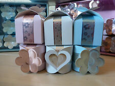 DECORATIVE TABLE FAVOUR CAKE BOX IDEAL FOR CHRISTENING WEDDING OR PARTY