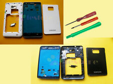 Original Full Housing faceplate Button Keypad for Samsung Galaxy S2 i9100 SII