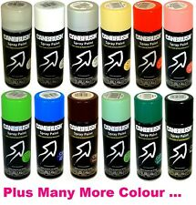Large Spray Paint Auto DIY Colour Primer Aerosol Can Wood Metal Plastic or Tape
