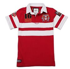 KEVINGSTON VINTAGE PERU NO.16 RUGBY POLO JERSEY MULTIPLE SIZE