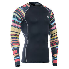 FIXGEAR CPD_B33 Compression shirt base layer skin tight under training Gym wear
