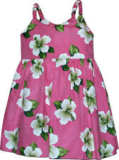 Girl Hawaiian Dress Island Escape 100% Cotton 130-3686 NEW Made in Hawaii, U.S.A