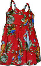 Parrot Toddler Hawaiian Dress 100% Cotton 130-3531 NEW Made in Hawaii, USA