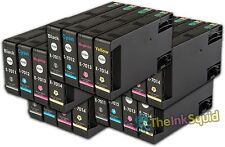 The Ink Squid 5 Sets T7011-4 Epson Compatible Pyramid Non OEM Ink Cartridges New