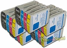 5 Sets of HP 940 XL Chipped Compatible Ink Cartridges for Photosmart Printers