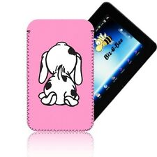'CUTE SPOTTY DOG' [7] Case Pouch Cover Sleeve Slip for AMAZON KINDLE FIRE 1 & 2