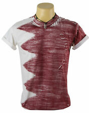 New Indie Diy Discharge Qatar Full Graphic Mens 100% Cotton T-Shirt Size S-XL