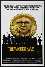 THE WICKER MAN Movie POSTER Horror Thriller Classic
