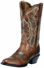 ARIAT - Ladies Heritage Western R Toe - Sassy Brown - ( 10010266 ) - New In Box