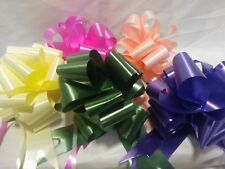 6 X Pull Bows 30mm Various Colours