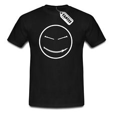 BDSM Zipper Smiley Bondage Kinky SM Sex Sado Maso Shades of Grey T-Shirt Herren