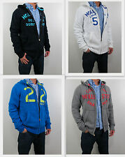 NWT HOLLISTER Men 's 2013 Dude Slim Muscle Fit San Onofre Hoodie By Abercrombie