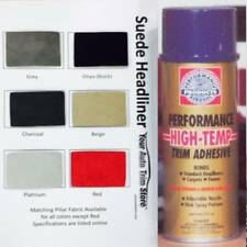 Suede Headliner Kit:  4 Yards of Suede Fabric + 2 Cans Spray Adhesive
