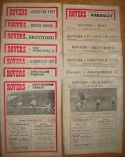 Doncaster Rover's Home Programme's  1952/53 + 1953/54  Div 2