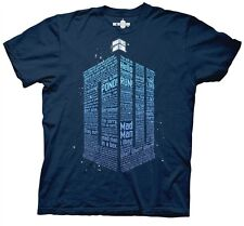 Doctor Who Logo of Words mens t-shirt