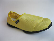 DR SCHOLL LADIES YELLOW CASUAL SLIP ON SHOES WITH MASAGING INSOLES - EXCURSION