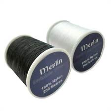 MERLIN INVISIBLE MAGIC NYLON FILAMENT CLEAR SEWING THREAD QUILTING 200M SPOOL