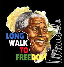 Nelson Mandela South Africa Freedom Fighter Madiba painting T shirt