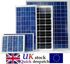 12v 5w 10w 15w 20w 25w 40w Solar Panel DIY Trickle Battery Charger Caravan Boat