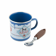 Spinning Hat Coffee Mug Paint Pot Mug & Brush Spoon Gift Idea designer Unique