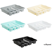 NEW !! Large  Wham Plastic dish drainer 46cm (Choose Your Colour) made in uk