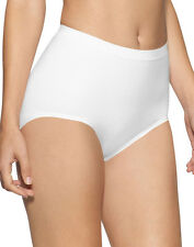 Seamless Knitted Light control Maxi Brief White Black Nude Surefit Knickers