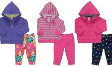 Carter's Adorable Cuddly-Cute 2-Piece L/S Hoodie & Tights Set Size 6 Months NWT