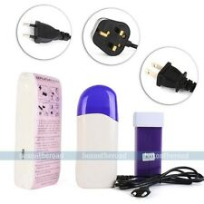New Roll On Refillable Depilatory Waxing Heater Waxing Hair Removal Machine set