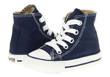 Converse Chuck's Hi Tops Navy All Sizes Infants Kids Shoes