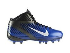 NEW Mens 14 NIKE Air Zoom Alpha Talon TD Royal Blue Black Molded Football Cleats