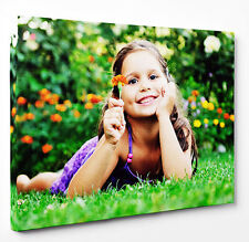 PERSONALISED PHOTO CANVAS PRINT YOUR PICTURE READY TO HANG LANDSCAPE & PORTRAIT
