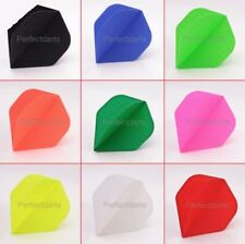 10 SETS FABRIC RIPSTOP CLOTH DART FLIGHTS NYLON - Choose Colour - Standard Shape
