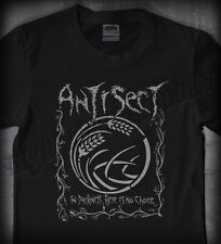 ANTISECT #01 IN DARKNESS •OFFICIAL SHIRT• (punk crust discharge hellbastard)
