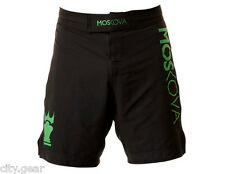Moskova Fight Shorts (Black) - mma surf skate jiu jitsu