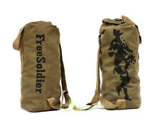 New Camping Hiking Outdoor Military Army Duffle Duffel Backpack Barrel Bag Pack