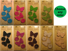 12 Butterfly Bath Tub Shower Appliques Safety No Slip Bathtub Treads Many Colors