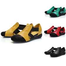 Comfy Casual Walking womens Flat shoes elastic Loafers 4 Color Size US 5-9.5
