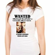 tshirt donna mv51 prison break Michael Scofield e Lincoln Burrows
