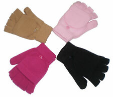 ~~ONE (1) PAIR GLOVES AND POP-UP MITTEN COMBO~VARIOUS COLORS IMMEDIATE SHIPPING!
