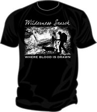 SAR - Search & Rescue: WILDERNESS SEARCH: AIRSCENT Screen Printed T-Shirt