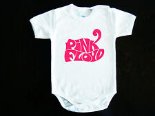 Pink Floyd  LOGO BABY BODYSUIT ONESIE ONE PIECE CLOTHING ROCK HARD FUNK
