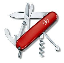 COUTEAU SUISSE VICTORINOX COMPACT 15 OUTILS ROUGE OU NOIR NEUF 1.3405 1.3405.3