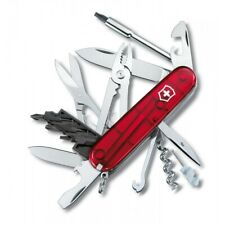 COUTEAU SUISSE VICTORINOX CYBER TOOL CYBERTOOL 34 OUTILS ROUGE OU BLEU 1.7725.T