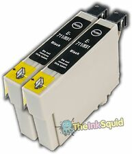 2 non-oem T0711/T0712/T0713/T0714 Epson Cheetah/Monkey Ink Cartridge-Any Colour